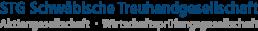 STG Schwäbische Treuhandgesellschaft - Aktiengesellschaft & Wirtschaftsprüfungsgesellschaft mit Standorten in Kaufbeuren, Memmingen, Kempten, Mindelheim. Wir bieten Ihnen alles rund um Steuerberatung und Wirtschaftsprüfung.